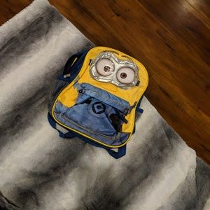 Small Young Child Minion Backpack